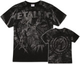 Metallica - Stone Justice (oversized) T-skjorter