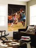 New Orleans Hornets v Detroit Pistons: Ben Gordon and Chris Paul Wall Mural by Allen Einstein