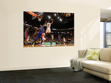 Detroit Pistons v Miami Heat: Chris Bosh and Charlie Villanueva Wall Mural by Mike Ehrmann