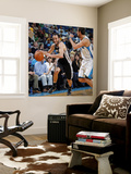 San Antonio Spurs v New Orleans Hornets: Manu Ginobili and Marco Belinelli Wall Mural by Layne Murdoch