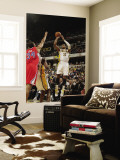 Los Angeles Clippers v Indiana Pacers: Danny Granger and Brian Cook Wall Mural by Ron Hoskins