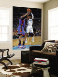 New York Knicks v New Orleans Hornets: Chris Paul and Arar'e Stoudemire Wall Mural by Layne Murdoch