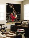 Los Angeles Clippers v Indiana Pacers: Brandon Rush and Brian Cook Wall Mural by Ron Hoskins