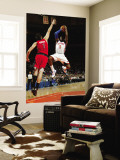 Toronto Raptors v New York Knicks: Amar'e Stoudemire and Andrea Bargnani Wall Mural by Ray Amati