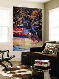 Minnesota Timberwolves v Dallas Mavericks: Sebastian Telfair Mural por Glenn James