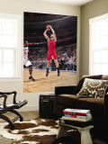 Toronto Raptors v Philadelphia 76ers: Andrea Bargnani and Elton Brand Wall Mural by David Dow