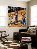 Memphis Grizzlies v Washington Wizards: Zach Randolph and Al Thornton reproduction murale géante par Ned Dishman