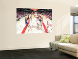 Phoenix Suns v Houston Rockets: Luis Scola and Shane Battier Wall Mural by Bill Baptist