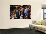 Memphis Grizzlies v Phoenix Suns: Rudy Gay and Xavier Henry Wall Mural by Christian Unknown