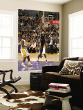 Indiana Pacers v Los Angeles Lakers: Solomon Jones Wall Mural by Andrew Bernstein