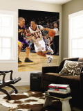Los Angeles Lakers v New Jersey Nets: Devin Harris and Steve Blake Wall Mural by Andrew Bernstein