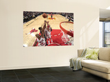Indiana Pacers v Chicago Bulls: Keith Bogans, Joakim Noah and James Posey Wall Mural by Ray Amati