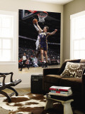 Indiana Pacers v Atlanta Hawks: Mike Dunleavy and Damien Wilkins Wall Mural by Scott Cunningham