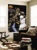 Denver Nuggets v Charlotte Bobcats: Al Harrington, Gary Forbes and Stephen Jackson Wall Mural by  Streeter
