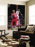 Houston Rockets v Dallas Mavericks: Jason Terry and Chase Budinger Wall Mural by Glenn James
