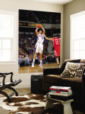 Houston Rockets v Sacramento Kings: Francisco Garcia and Kevin Martin Wall Mural by Rocky Widner