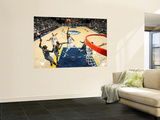 Charlotte Bobcats v Memphis Grizzlies: Rudy Gay, Nazr Mohammed and Stephen Jackson Wall Mural by Joe Murphy