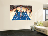 New Orleans Hornets v Los Angeles Clippers: Chris Paul and Blake Griffin Wall Mural by Andrew Bernstein