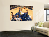 Charlotte Bobcats v Indiana Pacers: Danny Granger and Dominic McGuire Wall Mural by Ron Hoskins