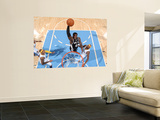 San Antonio Spurs v Denver Nuggets: Dejuan Blair and Al Harrington Wall Mural by Garrett Ellwood