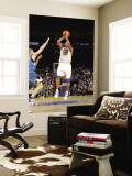 Minnesota Timberwolves v Golden State Warriors: Monta Ellis and Luke Ridnour Wall Mural by Rocky Widner