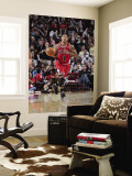 Chicago Bulls v Houston Rockets: Derrick Rose Wall Mural by Bill Baptist