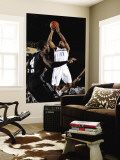 Austin Toros v Texas Legends: Antonio Daniels Wall Mural by Layne Murdoch