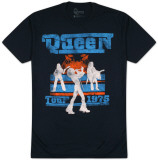 Queen - Tour 1976 Silhouettes T-Shirts