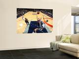 Atlanta Hawks v New Jersey Nets: Mike Bibby Wall Mural by David Dow