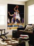 New York Knicks v Washington Wizards: JaVale McGee and Timofey Mozgov Wall Mural by Ned Dishman
