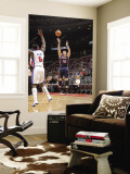 Atlanta Hawks v Detroit Pistons: Mike Bibby and Ben Wallace Wall Mural by Allen Einstein