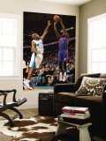 Detroit Pistons v New Orleans Hornets: Rodney Stuckey and Jarrett Jack Wall Mural by Chris Unknown