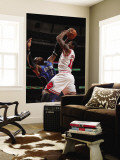 Orlando Magic v Chicago Bulls: James Johnson and Dwight Howard Wall Mural by Gary Dineen