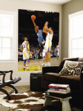 Minnesota Timberwolves v Golden State Warriors: Corey Brewer and Dan Gadzuric Wall Mural by Rocky Widner