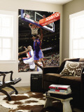 New York Knicks v Detroit Pistons: Amar'e Stoudemire and Ben Wallace Wall Mural by Allen Einstein