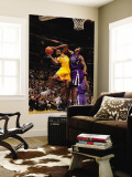 Sacramento Kings v Los Angeles Lakers: Devin Ebanks and Jason Thompson Wall Mural by Noah Graham