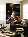 Philadelphia 76ers v Cleveland Cavaliers: Joey Graham and Evan Turner Wall Mural by David Liam Kyle