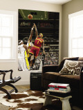 Cleveland Cavaliers v Indiana Pacers: Daniel Gibson and James Posey Vægplakat af Ron Hoskins