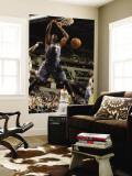 Charlotte Bobcats v Indiana Pacers: Derrick Brown Wall Mural by Ron Hoskins