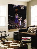 New York Knicks v Detroit Pistons: Wilson Chandler and Richard Hamilton Wall Mural by Allen Einstein