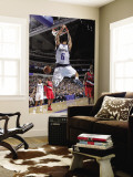 Portland Trail Blazers v Dallas Mavericks: Tyson Chandler and Brandon Roy Wall Mural by Glenn James