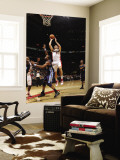 Denver Nuggets v Toronto Raptors: Andrea Bargnani and Shelden Williams Wall Mural by Ron Turenne
