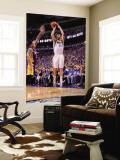Los Angeles Lakers v Dallas Mavericks - Game Three, Dallas, TX - MAY 6: Peja Stojakovic and Matt Ba Wall Mural by Andrew Bernstein