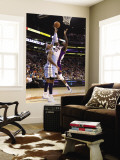 Denver Nuggets v Phoenix Suns: Hakim Warrick and Carmelo Anthony Wall Mural by Christian Petersen