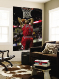Chicago Bulls v Indiana Pacers - Game Four, Indianapolis, IN - APRIL 23: Derrick Rose Wall Mural by Jonathan Daniel