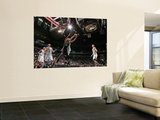 San Antonio Spurs v Minnesota Timberwolves: Tim Duncan and Kevin Love Wall Mural by David Sherman