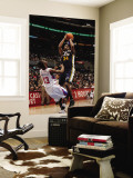 Utah Jazz v Los Angeles Clippers: C.J. Miles and Willie Warren Wall Mural by Noah Graham