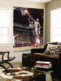 Indiana Pacers v Utah Jazz: Raja Bell and Darren Collison Wall Mural by Melissa Majchrzak