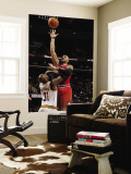 Chicago Bulls v Cleveland Cavaliers: Carlos Boozer and Jawad Williams Wall Mural by David Liam Kyle