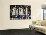 Oklahoma City Thunder v Denver Nuggets-Game Four, Denver, CO - April 25: Al Harrington, Raymond Fel Wall Mural